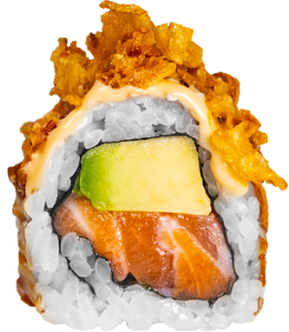 Foto Crunchy Avocado Salmon roll