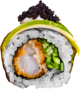 Foto Ebi Fried roll