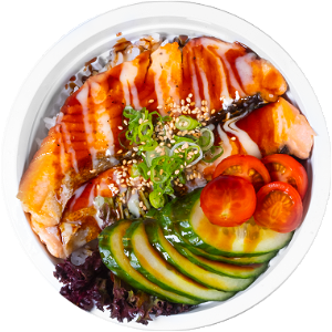 Foto Salmon teriyaki Don