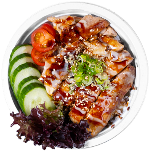 Foto Chicken teriyaki Don