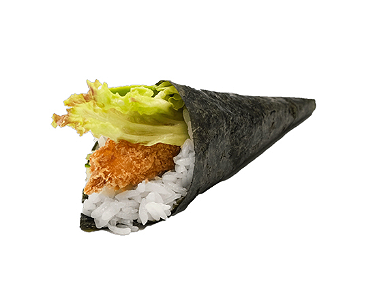 Foto Temaki Ebi Fried